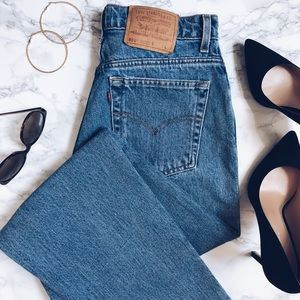 Levi's | 551 high-rise straight fit denim jeans